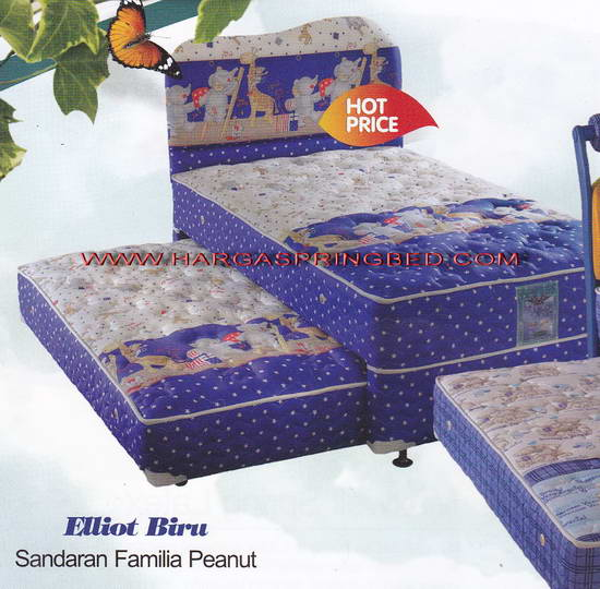Toko Furniture Simpati Spring Bed 2 In 1 Kasur Sorong