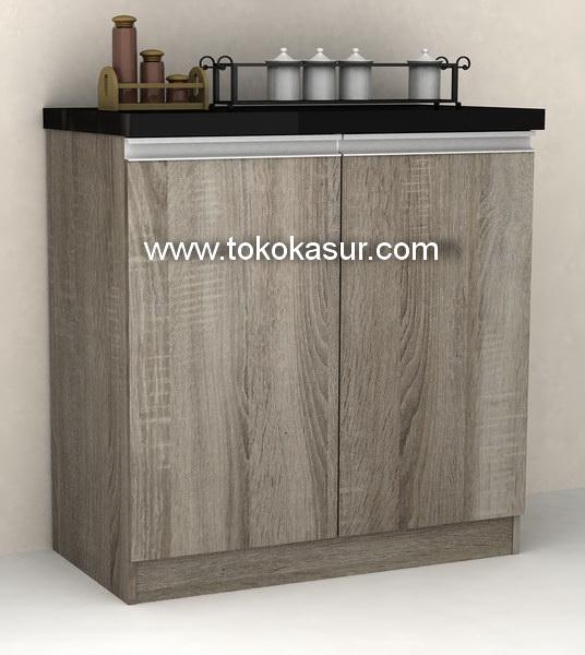 Kitchen set murah harga kitchen set lemari dapur for Kitchen set 3 pintu bawah